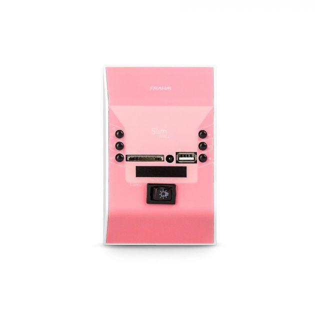 Amplificador de Parede Frahm Slim Wall Rosa Bivolt