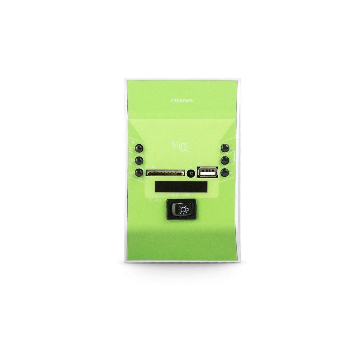 Amplificador de Parede Frahm Slim Wall Verde Bivolt