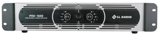 Amplificador de Potência LL Audio PRO 1600 400w rms