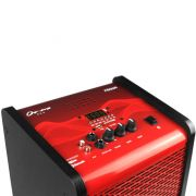 Caixa Amplificada Multiuso Frahm Chroma Red