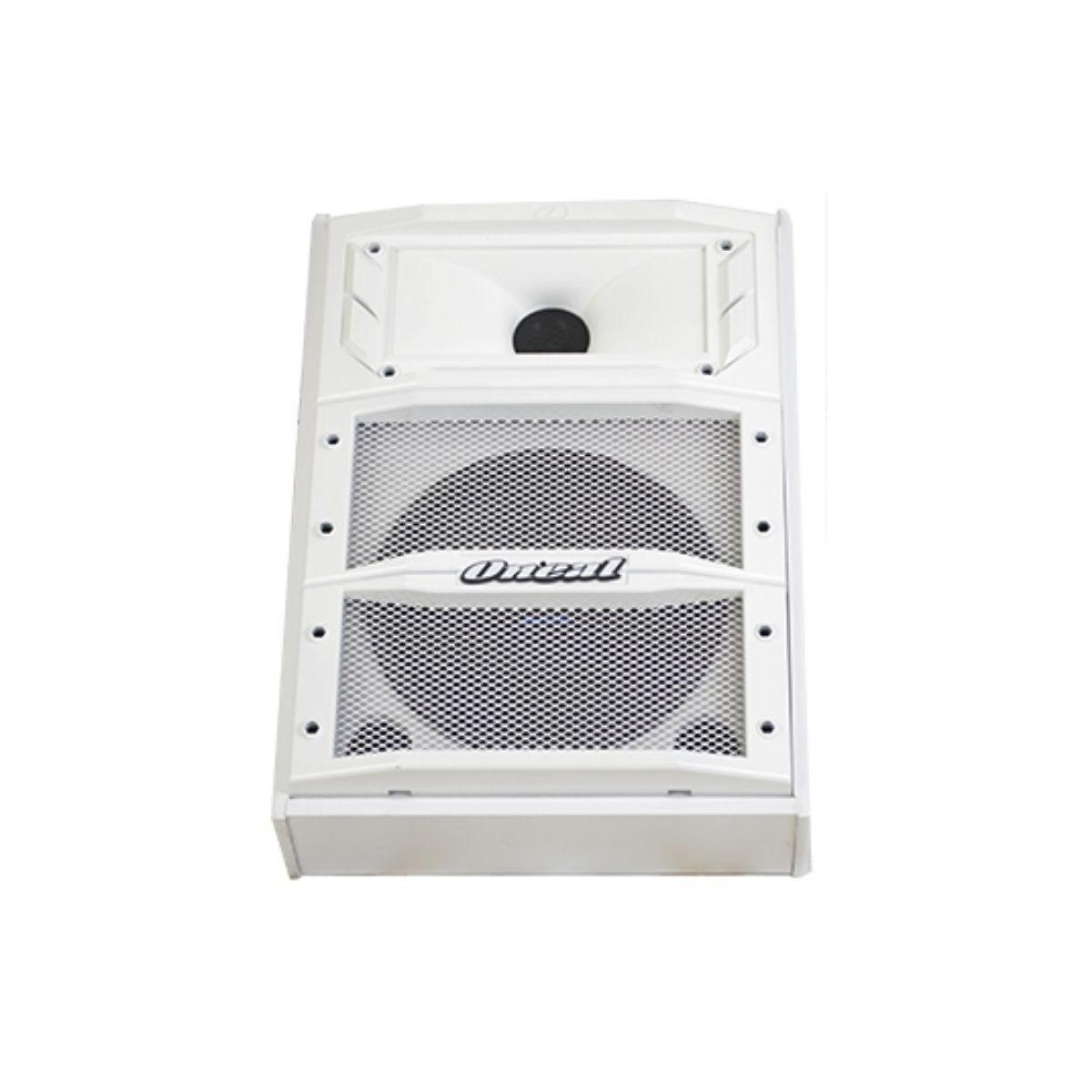 Caixa de Retorno Oneal OPM1310 Branco - Monitor de Som Ativo