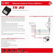 Central Trava Elétrica Soft TR20