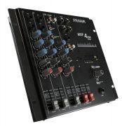 Mesa de Som Mixer Frahm MXF 4 Canais USB