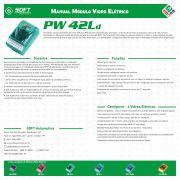 Módulo de Vidro Elétrico Soft PW42L 4 portas