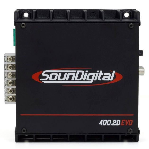 Módulo Soundigital  SD400.2 2 Ohms Evo II Black