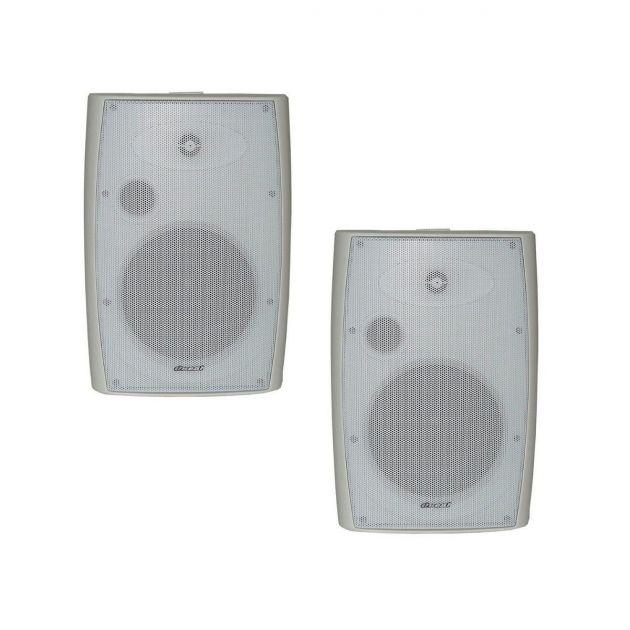 Par de Caixas Acústicas Som Ambiente Oneal OB330 Branca