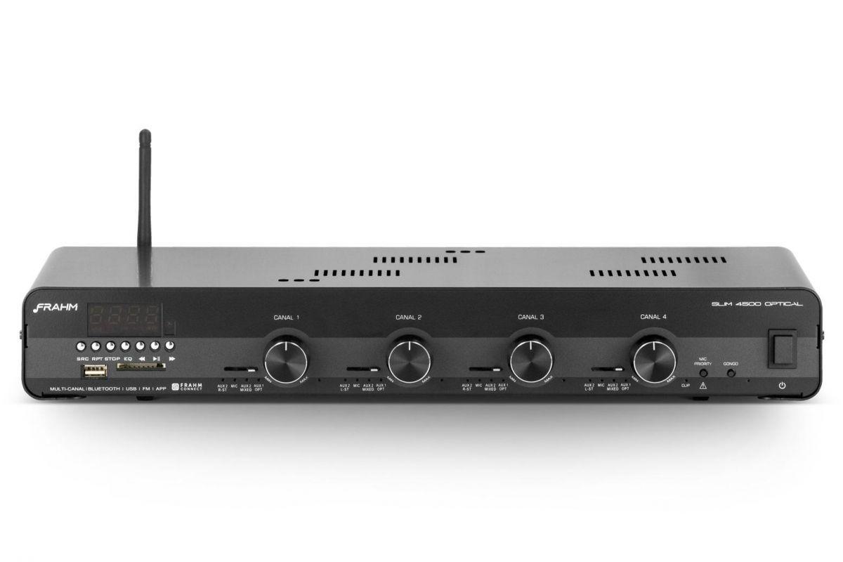 Amplificador Receiver Frahm SLIM 4500 Optical