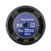 "Woofer Roadstar 12""RS1214 MB 4 Ohms 150w rms"